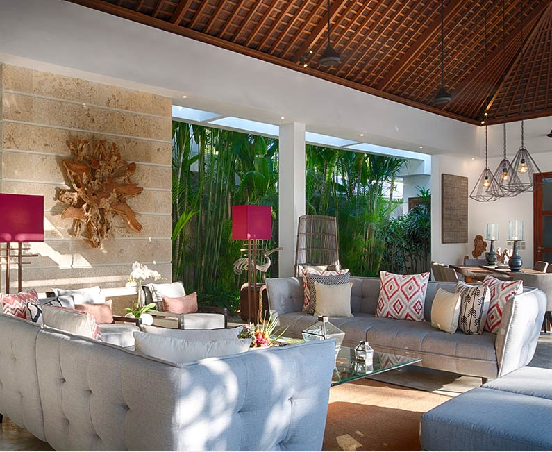 Casa Brio - Living area overview