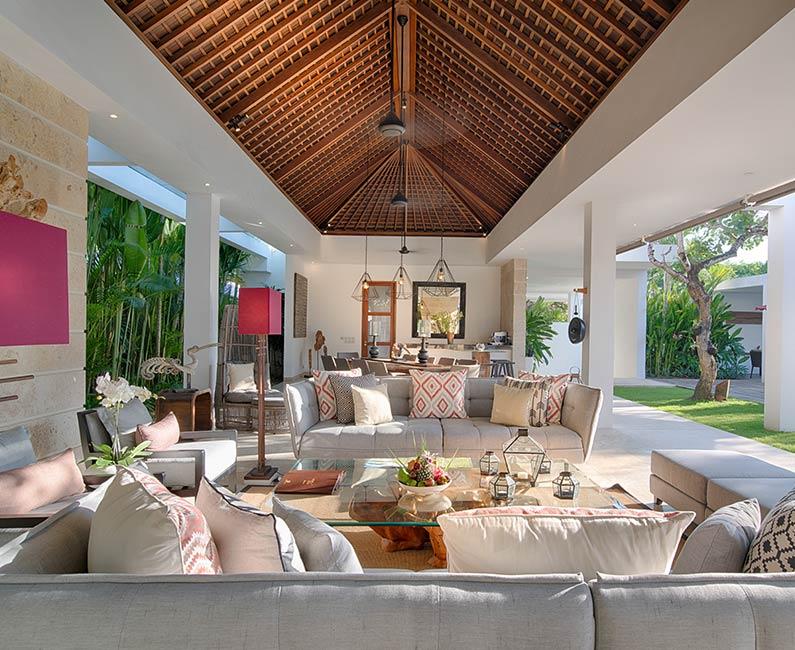 Casa Brio - Villa living area